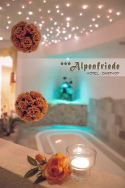 Wellnessbereich Hotel Alpenfriede