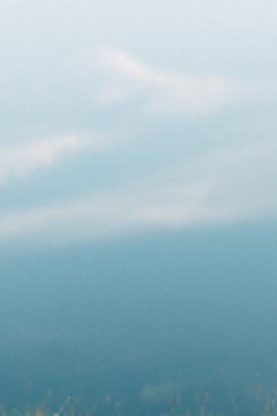 abstraktes Wasser und Wolkenbild