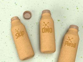 Unilever reveals paper-based detergent bottle
