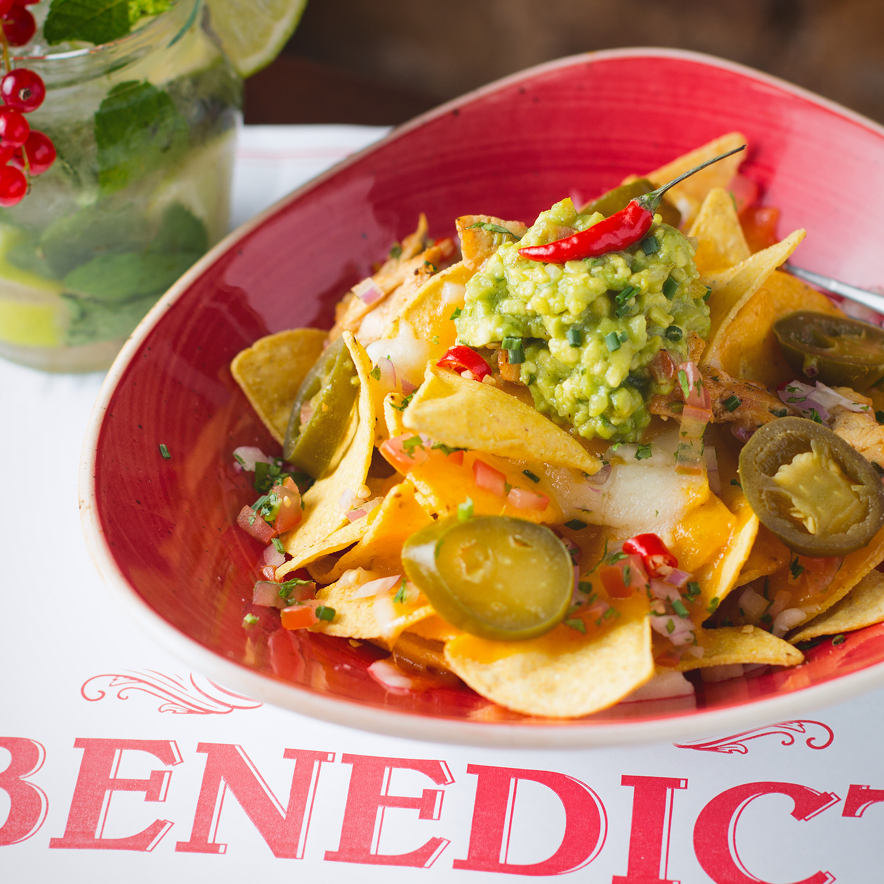 The Benedict - Nachos Tex Mex