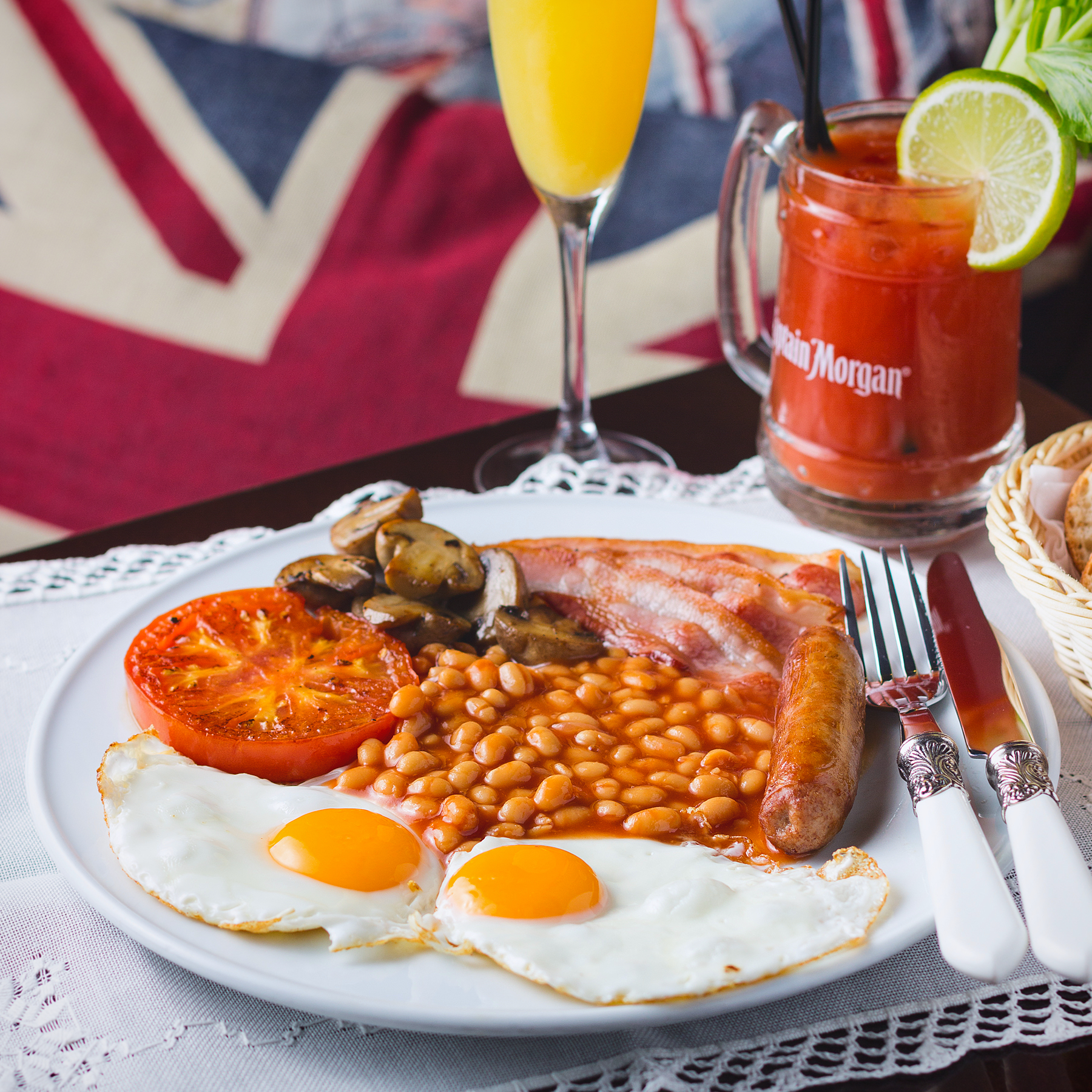 The Benedict - English Breakfast