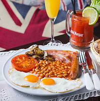 english breakfast the benedict barcelona