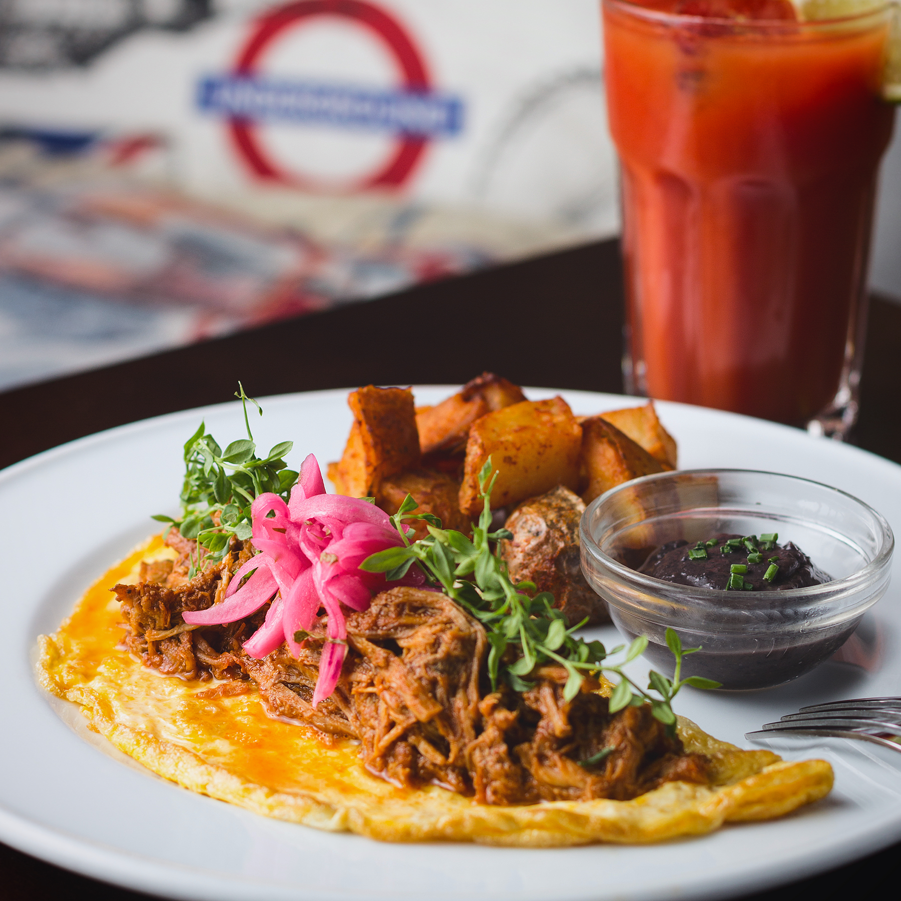 The Benedict - Cochinita Pibil