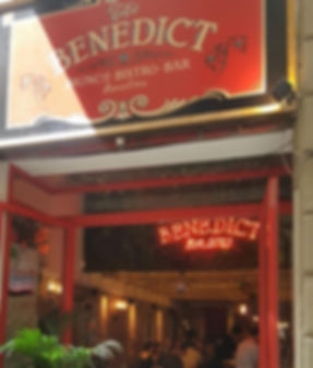 The Benedict Barcelona brunch