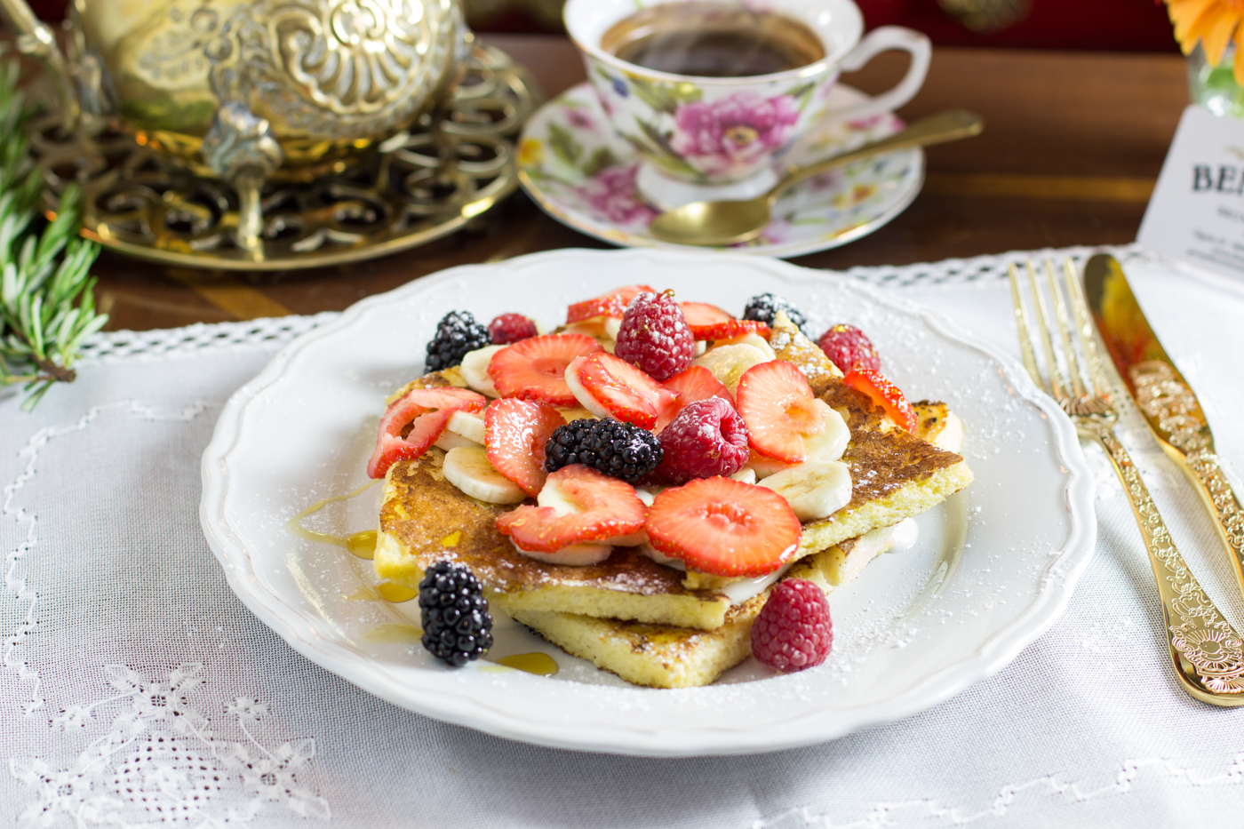 The Benedict - French toasts
