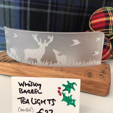 Deer Scene Tea Light