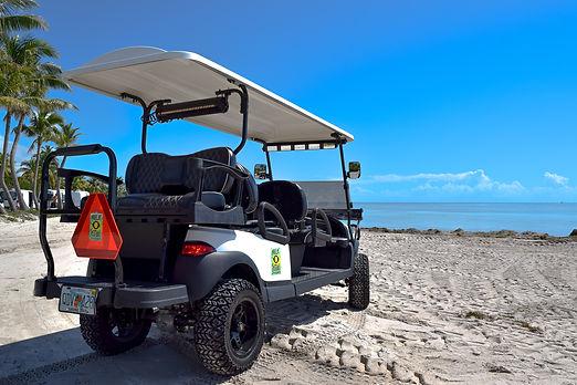 mile-zero-rentals-golf-cart-back-on-beac