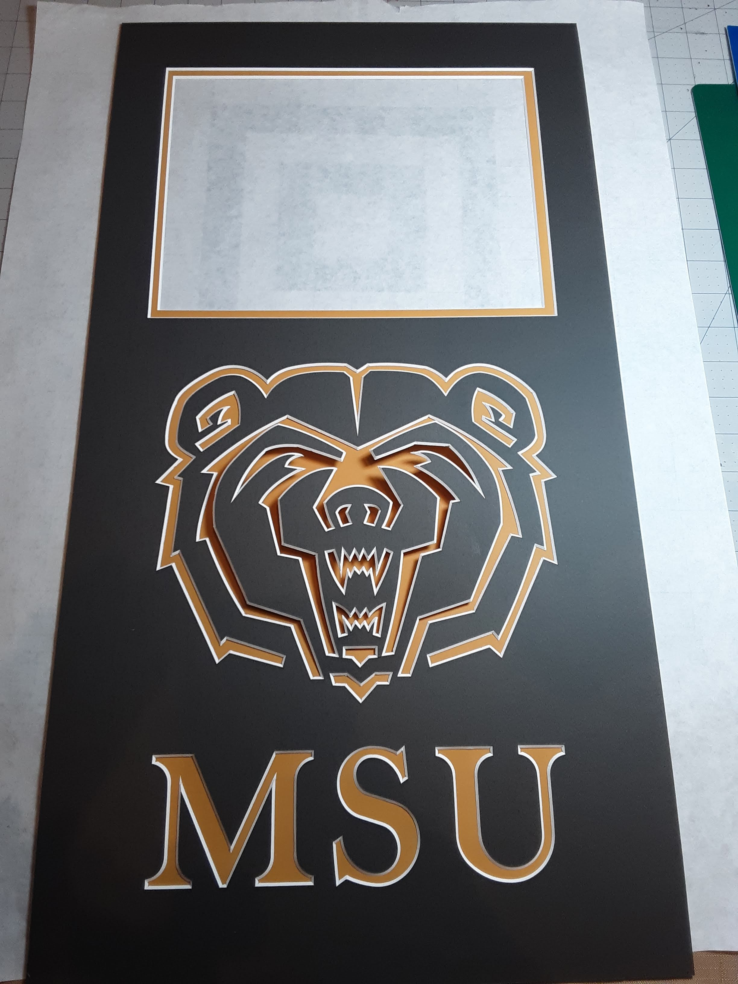 3d logo custom mat