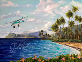 Flight in Paradise
