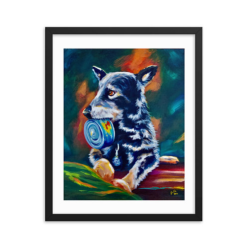 """""""Cozette's Can"""" Framed poster"""
