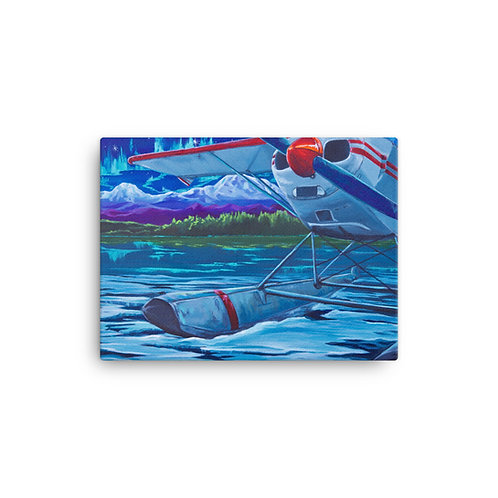 Almost Float Season Canvas Print