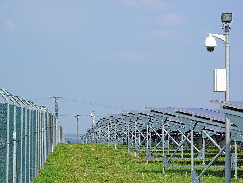 Infraestrutura de Segurança Usinas de Energia Limpa.