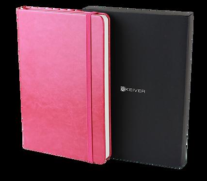 Bullet Journal A5 punktkariert mit Seitenzahlen - Pink