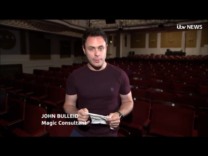 ITV News interview.