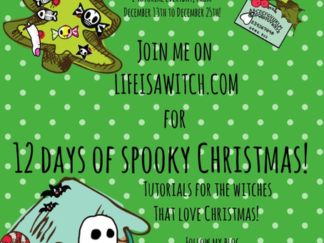 12 Nights of Spooky Christmas! JOIN THE FUN!