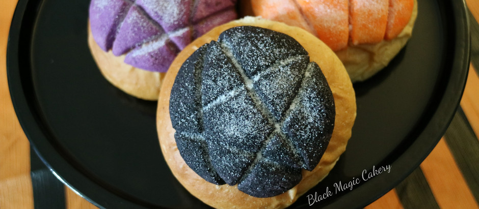 Spooky Conchas: for the bruja with a sweet tooth
