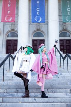 Gumi & Miku by Stephanie and Kari