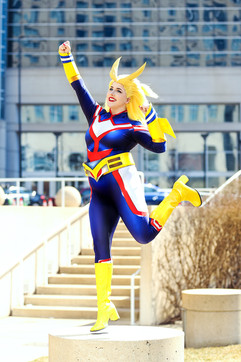 Fem!All-Might by Umbranwitch
