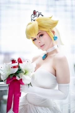Bride Peach by Jenna Lynn Meowri