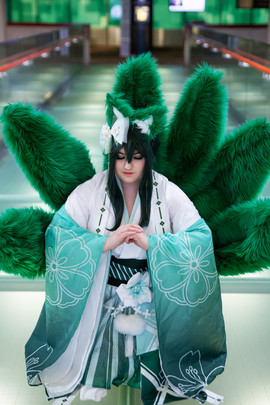 Kitsune Froppy by Shannon