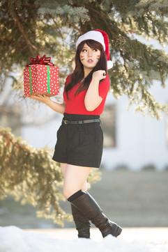 Christmas D.va by Bee Kurosaki