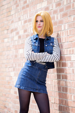Android 18 by SwolSmol