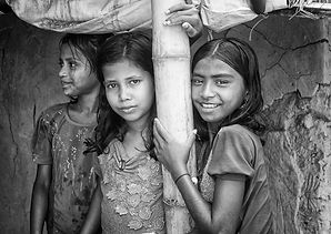 Rohingya friends in Kutapalong refugee camp