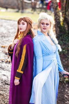 Anna and Elsa by SummerKay & SnowCappedCosplay