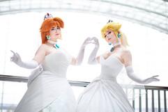 Bride Daisy and Peach by UmbranWitch & Jenna Lynn Meowri