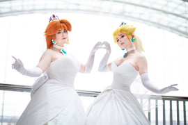 Bride Daisy and Peach by UmbranWitch & Jenna Lynn Meowri