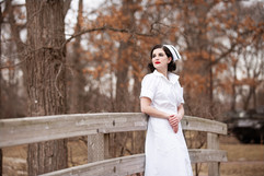 WWII Nurse by Gabby