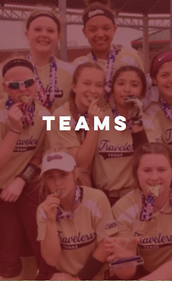 Select Teams, Club Teams, Parker County Storm, Select Baseball Teams, Select Softball Teams
