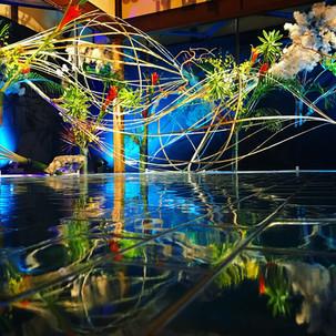 """インスタ映え必至の魅力スポット!日本の夏の""""あかり""""を楽しむ「和のあかり×百段階段2018」"""