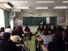 2014年11月7日 高校での講演
