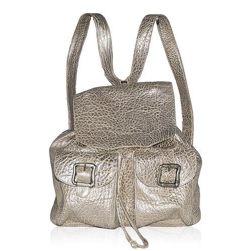 Caserta Backback in Silver
