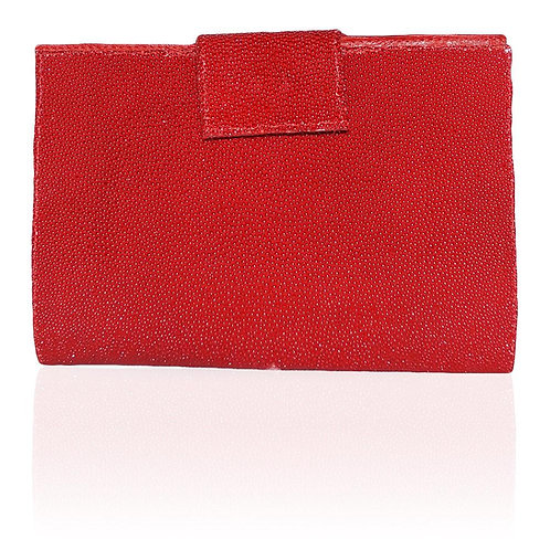 Rio Stingray Wallet in Red