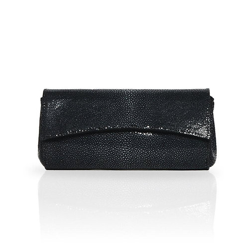 Siska Stingray Clutch in Black