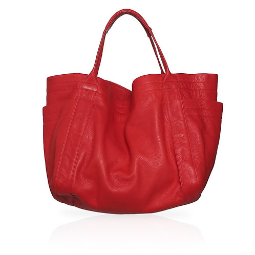Aversa Tote Bag in Red