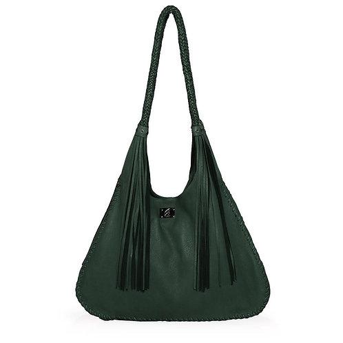 Ferrara Shoulder Bag in Forrest Green