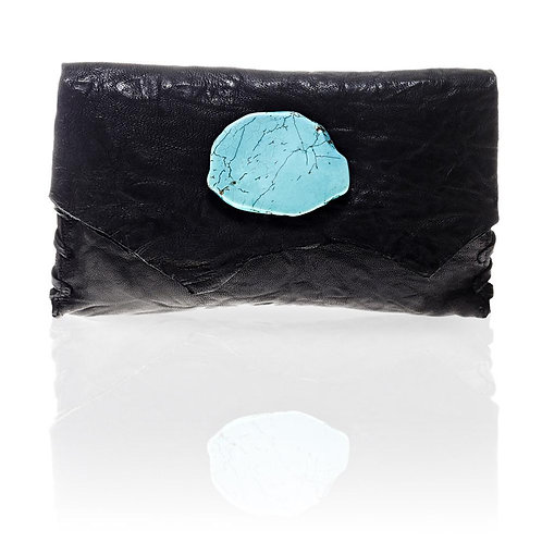 Marie Wallet/Clutch in Black