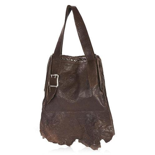 Novara Shoulder Bag in Chocolate