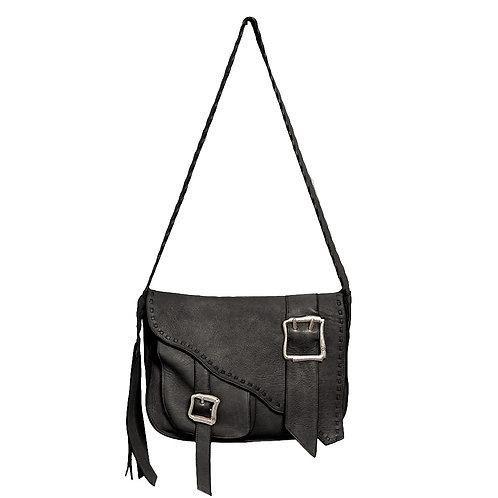 Salerno Crossbody Bag in Black