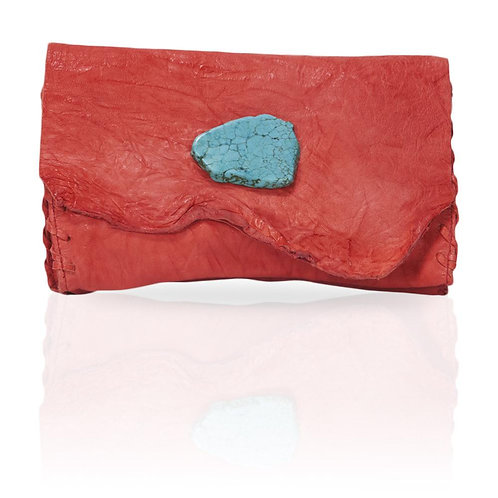 Marie Wallet/Clutch in Red