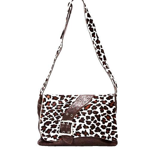 Lyon Crossbody leopard print