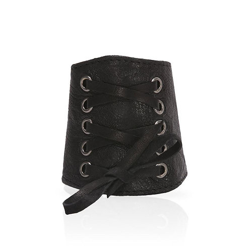Adel Lace Cuff in Black