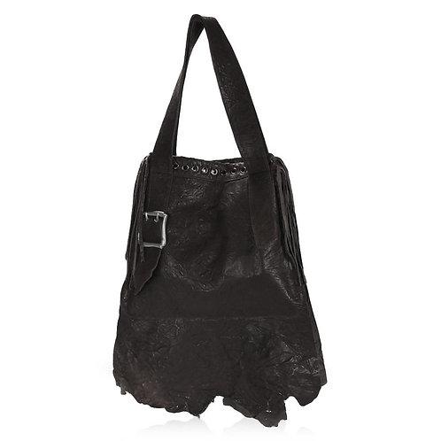 Novara Shoulder Bag in Black