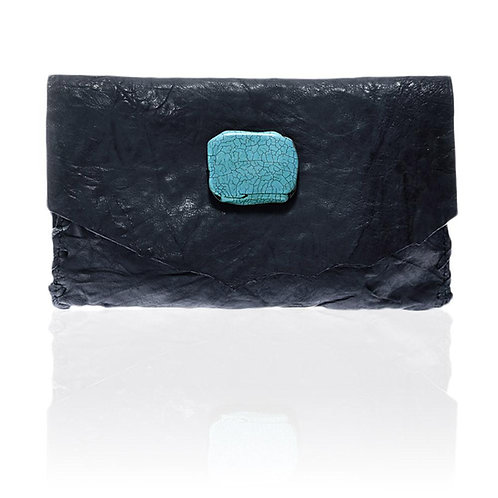 Marie Wallet/Clutch in Navy