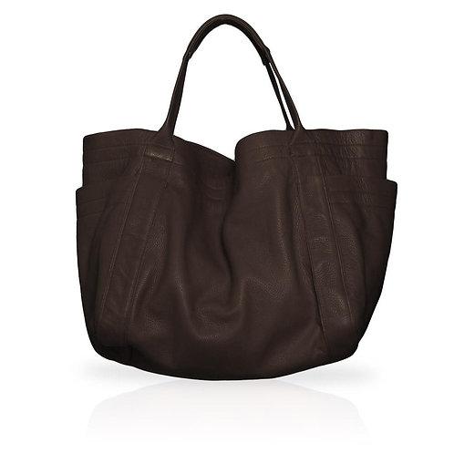 Aversa Tote Bag in Chocolate