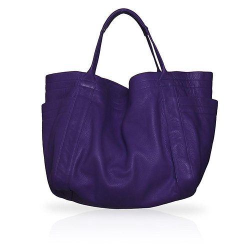 Aversa Tote Bag in Purple