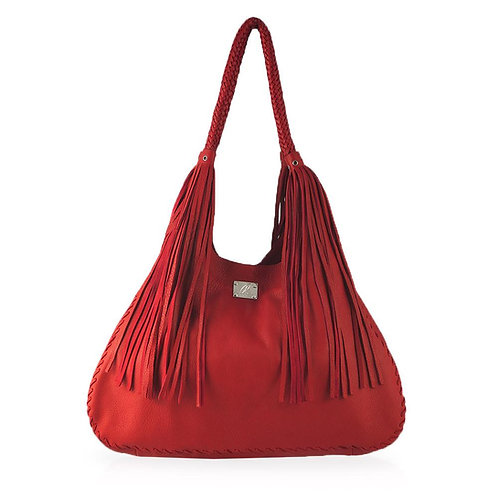Ferrara Shoulder Bag in Red